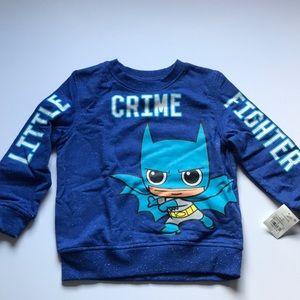 Batman- Blue sweater